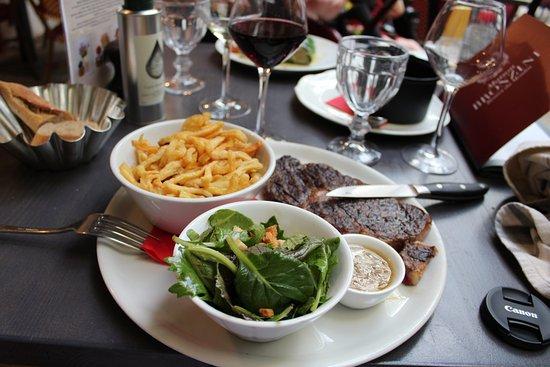 Villeneuve-les-Avignon, فرنسا: Steak