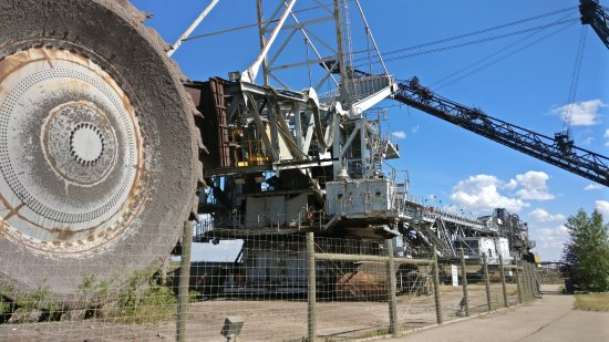 Fort McMurray, Canada: The Bucketwheel Reclaimer