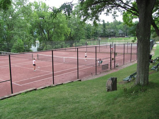 Silver Bay, Estado de Nueva York: tennis courts