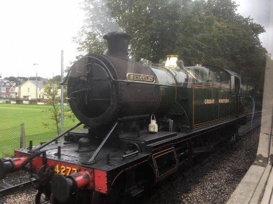 Paignton, UK: Steam train we travelled on