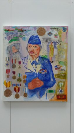 Women in Military Service for America Memorial: exhibit