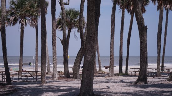 Hunting Island State Park: Beach at Hunting Island Lighthouse