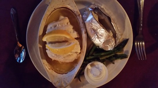 Rockwood, ME: Baked Haddock with Crabmeat Stuffing