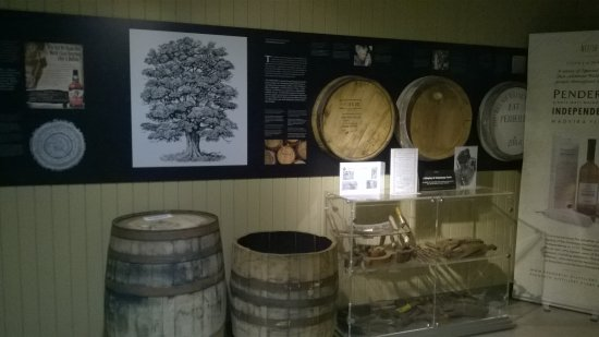 Penderyn, UK: Very intersting day at the distillery. Well worth a visit.