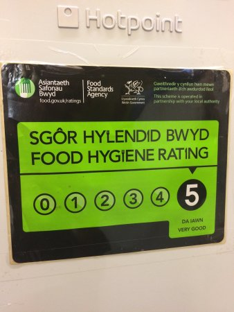St. Asaph, UK: Food hygiene rating