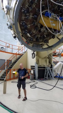 McDonald Observatory: Inside the 107 degree dome telescope