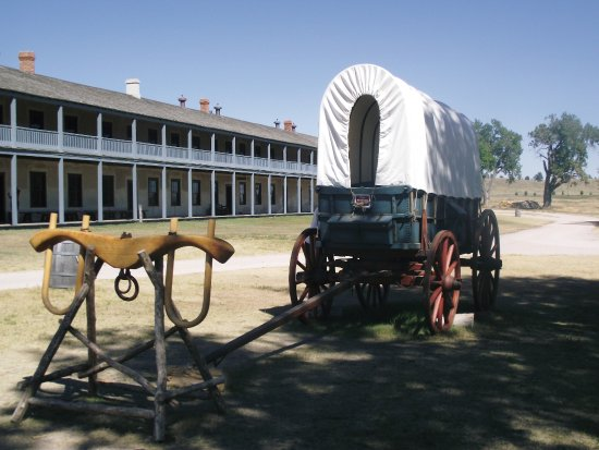 Fort Laramie National Historic Site: Interesting visit to Fort Laramie. Wyoming.