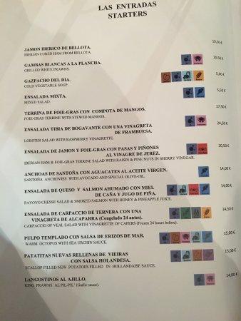 Our Bill Picture Of La Terraza De Teo Guadiaro Tripadvisor