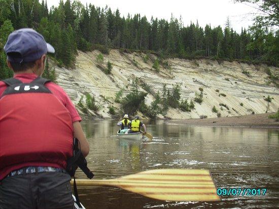 Labelle, Canada: un décor fluvio-glaciaire époustouflant