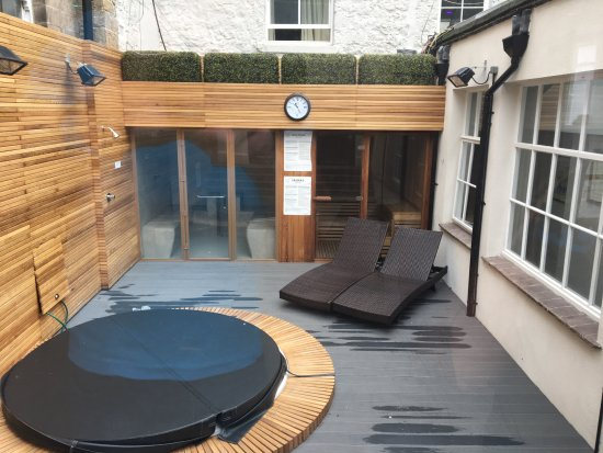 Spa hot tub picture of new bath hotel and spa matlock - Matlock hotels with swimming pools ...