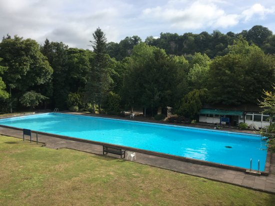 Pool Garden Annex Balcony View Picture Of New Bath Hotel And Spa Matlock Bath Tripadvisor