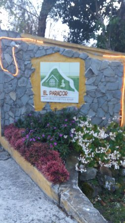 Cabanas El Parador: Entrada