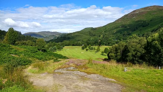 Crieff, UK: 3rd hole - a good drive will set up birdie chance