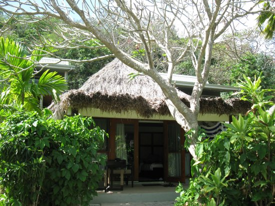 Castaway Island (Qalito), Fiji: This is the garden bure we stayed in