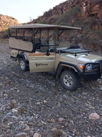 Sanbona Wildlife Reserve: Our Safari Truck