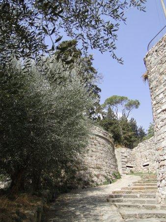 Sarteano, อิตาลี: L'ultimo pezzo di salita...