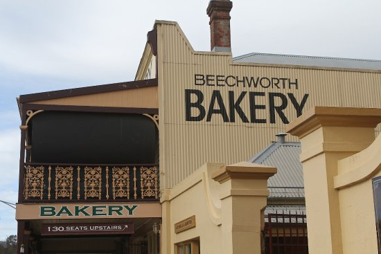 Beechworth, Australia: You can't go past a beesting with coffee