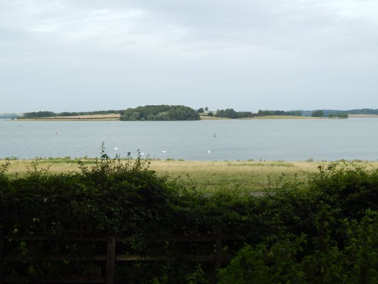 Normanton, UK: View from the hotel backyard