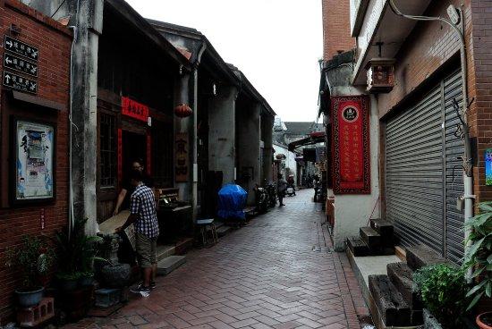 Changhua County, Taiwan: お土産屋さんは準備中