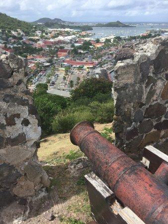 Marigot, St. Maarten-St. Martin: Uitzicht vanaf het fort