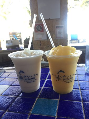Divi Carina Bay All Inclusive Beach Resort: Frozen Drinks