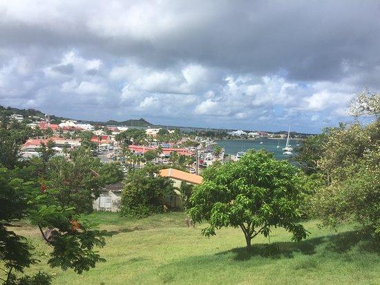 Marigot, سانت مارتن: Uitzicht vanaf het fort
