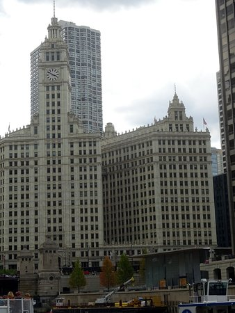 Wrigley Building: Building's North and South Towers