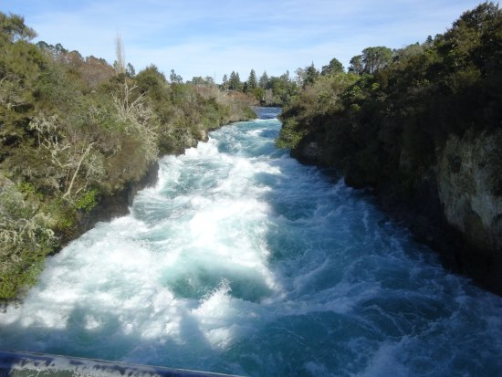 Taupo, New Zealand: stunning glacial waters