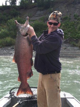Alaska Fish On Charters: My son Tiler's King 2017