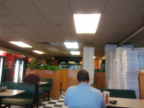 Bordentown, Nueva Jersey: Fresh and tasty pizza subs etc.