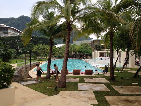 Nasugbu, Philippines: one of the many swimming pools