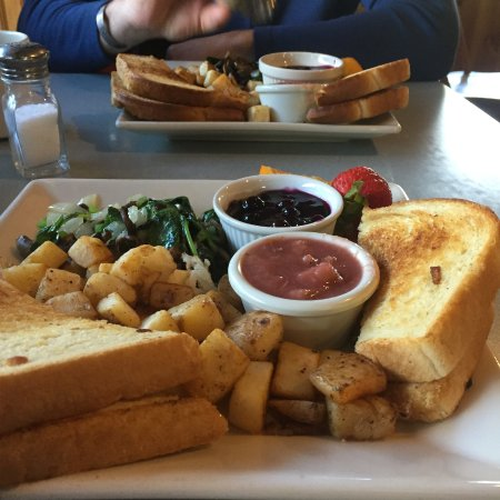 Moose Pass, AK: Vegan Breakfast option