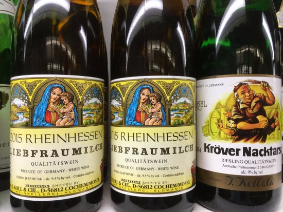 Torrance, CA: Served cold on a hot day nothing beat's these German Rhein Wines