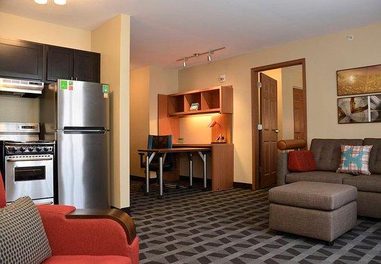 East Lansing, ميتشجان: One Bedroom Suite