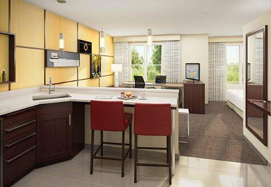 Largo, Μέριλαντ: Studio Suite Kitchen
