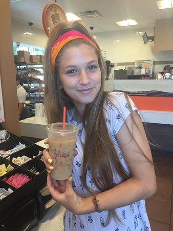Edgewater, MD: French vanilla swirl iced coffee