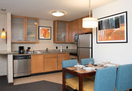Maumee, OH: Two-Bedroom Suite Kitchen