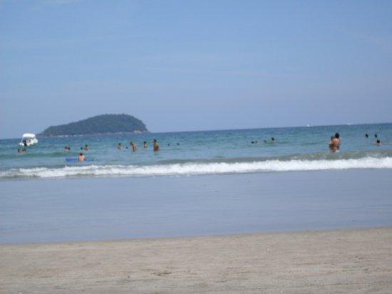 Boicucanga Beach: Foto tirada à tarde, dia gostoso, muito sol...