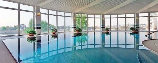 pool view bild von bridge inn hotel hamburg tripadvisor. Black Bedroom Furniture Sets. Home Design Ideas