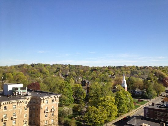 Newton, MA: View from Hotel