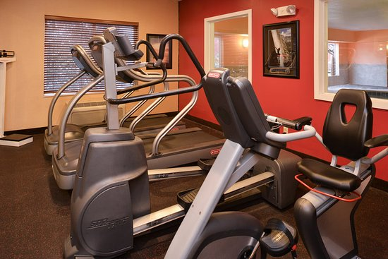 Lititz, PA: Treadmill, elliptical, and stationary bike.