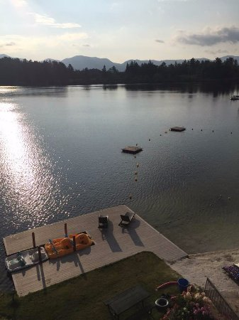 Golden Arrow Lakeside Resort: View from room 409