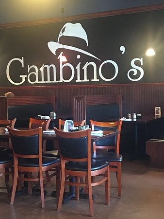 Moscow, ID: Interior of Gambino's