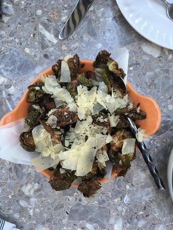 El Dorado Hills, Califórnia: Roasted sprouts