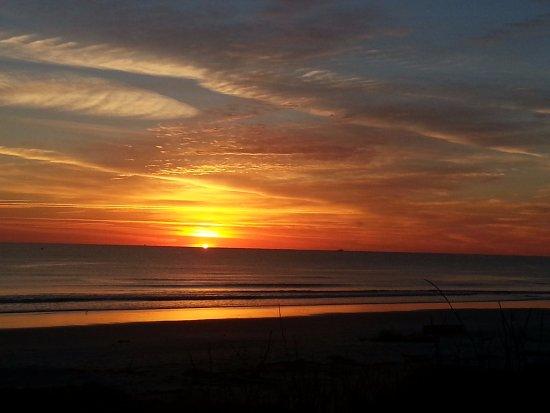 Crescent Beach, FL: Sunrise