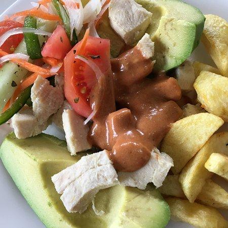 My avacado chicken salad