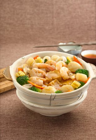Cyberjaya, Malaysia: Claypot Seafood Beancurd