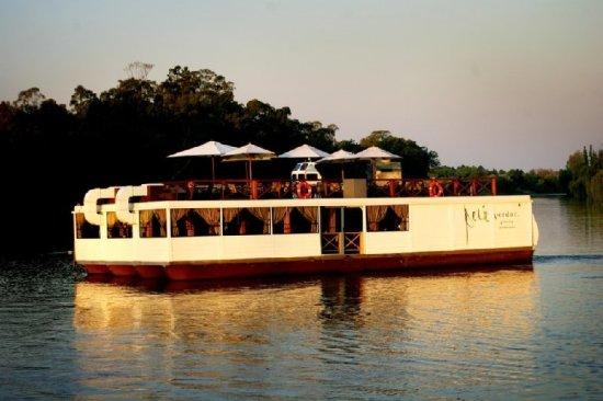 Vereeniging, Güney Afrika: Floating Restaurant