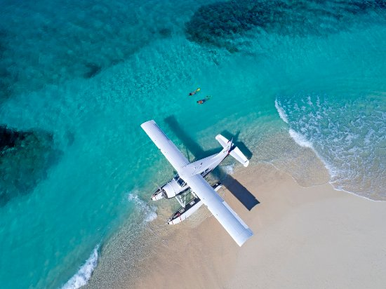 See Fiji by Plane and access deserted Islands and Beaches