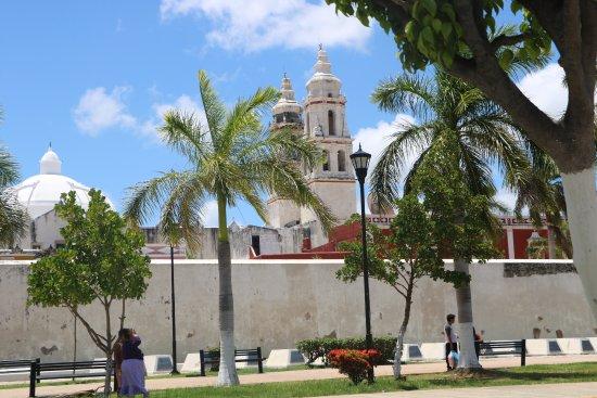 Campeche, Meksiko: Walls 5